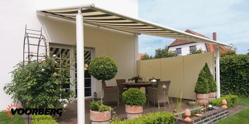 textieldak terraszonwering in regio 39 s met veel wind. Black Bedroom Furniture Sets. Home Design Ideas