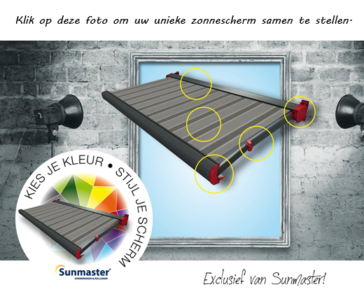 Sunmaster kleurconfigurator