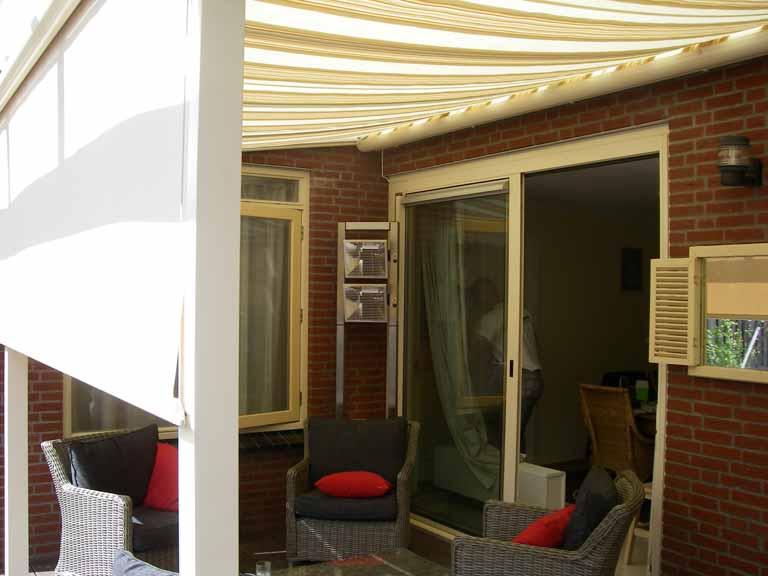 Zonwering Slaapkamer 6 : Weinor terrazza sottezza vertitex zonwering hellevoetsluis