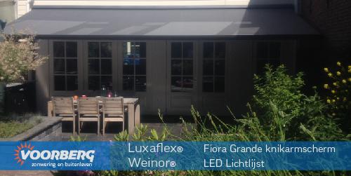 Luxaflex ® Fiora Grande knikarmscherm