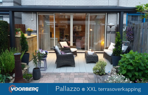 Foto Pallazzo XXL veranda/overkapping