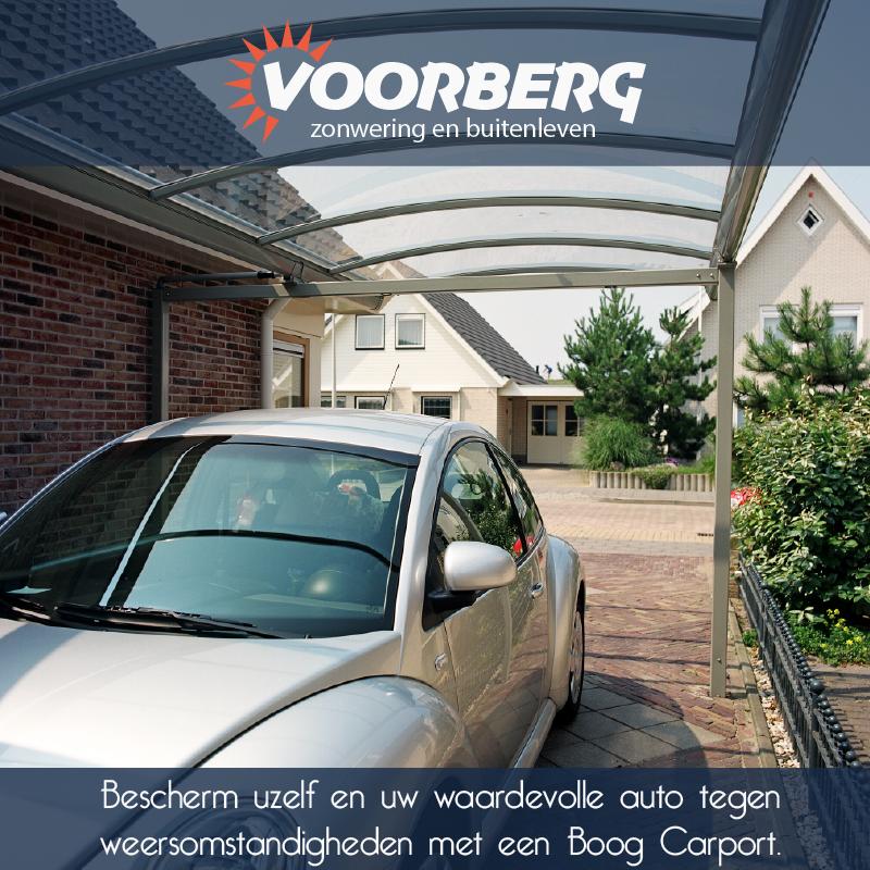 Bescherm uw auto én uzelf met een Boog carport